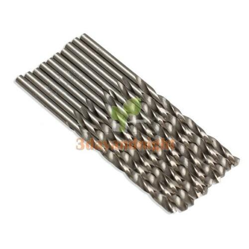 10Pcs Lot 3 mm Micro Acier HSS Twist Drilling Auger Bit for Electrical drill new