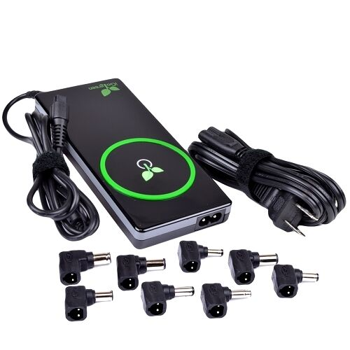 iGo Green Universal Laptop Wall Charger with 2.1A USB ,8 Power Tips PS00132-2007