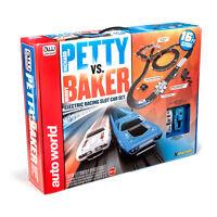 Auto World Richard Petty Vs Buddy Baker Race Set 16' Ho Slot Car Srs281