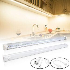 leuchtstofflampe komplett led lichtleiste t8 mit fassung inkl anschlusskabel ebay. Black Bedroom Furniture Sets. Home Design Ideas