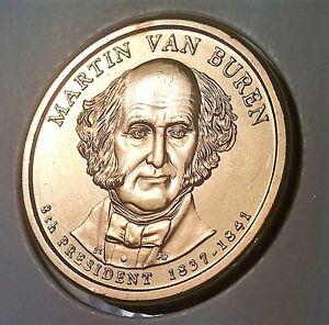 2008-P BU Martin Van Buren Presidential Dollar