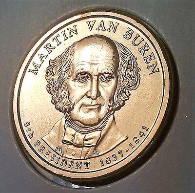 2008 P Martin Van Buren Presidential Dollar ~ Pos A ~ From U.S Mint Roll