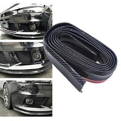 1pc Universal Carbon Auto Vorn Lip Splitter Körper Spoiler Chin Lip Rock-Schutz