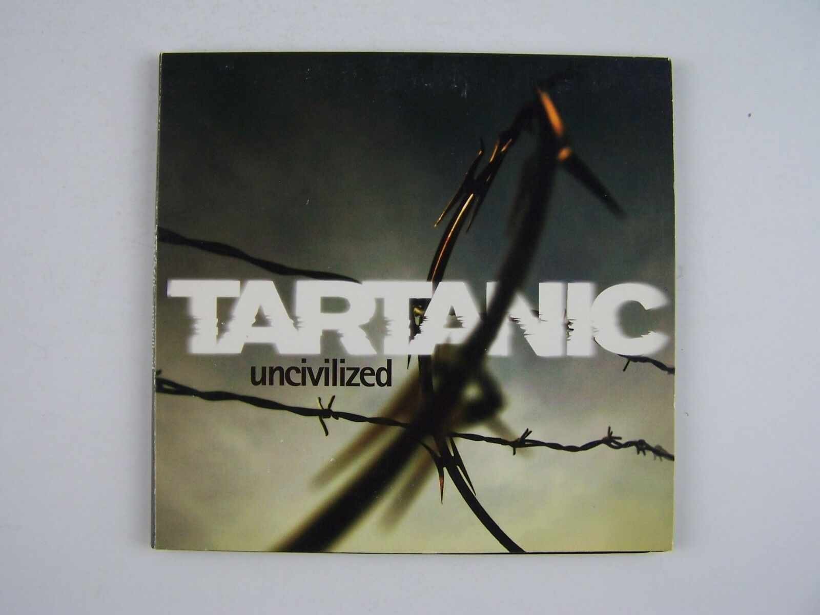Tartanic Uncivilized CD Signed/Autographed by Band 6344