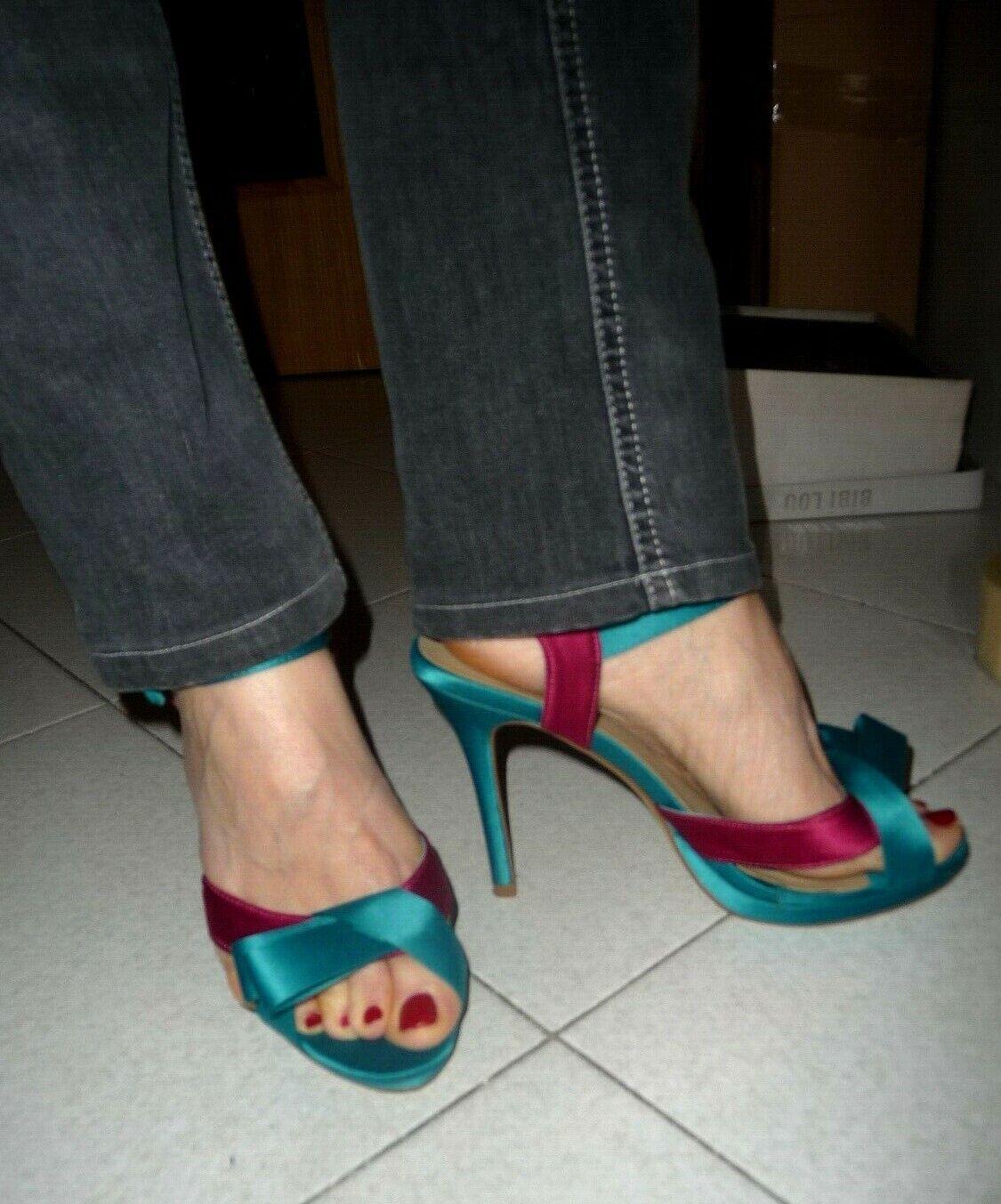 Sandaler Sandaler Sandaler bibi lou Satin No 39  designer online