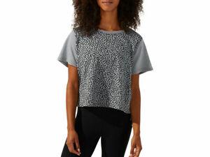 ASICS Women's Short Sleeve Camo Boxy Tee Apparel 2032B365
