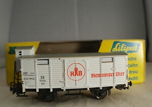 """Liliput n° 217 Wagon couvert marchandises DB HB bierwagen HO neuf en boîte - France - État : Occasion : Objet ayant été utilisé. Consulter la description du vendeur pour avoir plus de détails sur les éventuelles imperfections. Commentaires du vendeur : """"état neuf"""" - France"""