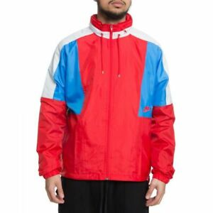 NIKE-AQ1890-657-Men-039-s-Re-Issue-NSW-Woven-Jacket-University-Red-Size-Medium