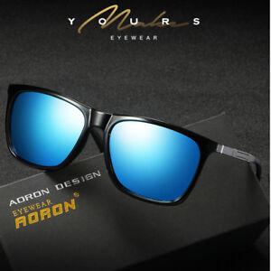 471ab949971a7 Image is loading Polarized-Men-Women-Vintage-100-UV400-Sunglasses-Eyewear-