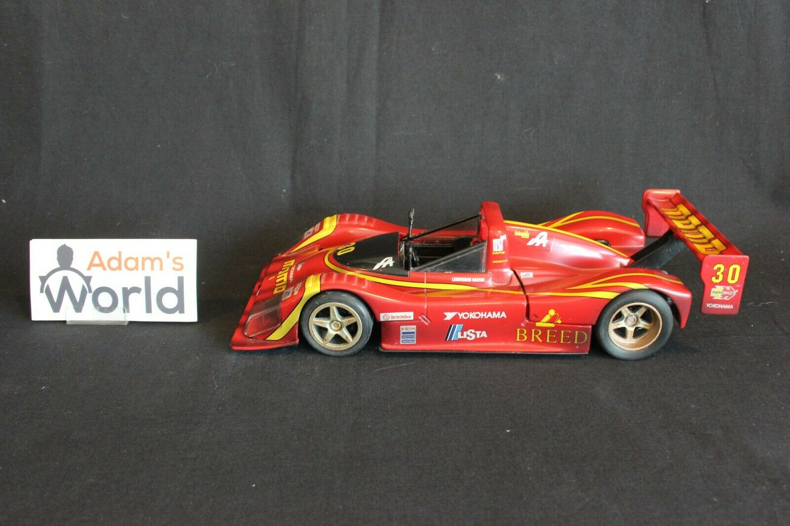 Hot Wheels Ferrari 333 SP 1998 1 18  30 Moretti   Luyendijk   Baldi (PJBB)