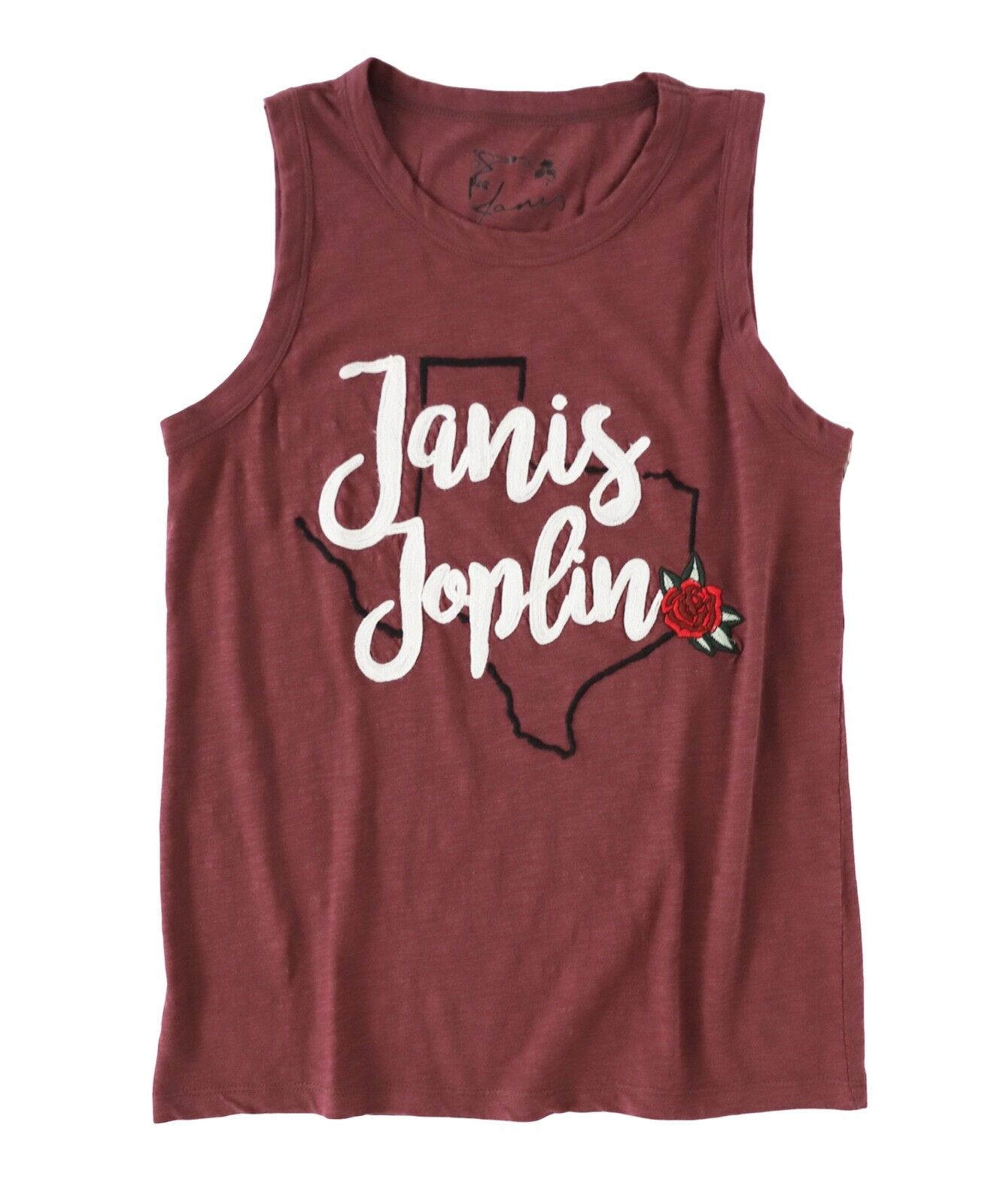 Lucky Brand - Donna XS - Nuova Nuova Nuova con Etichetta  49 - Rosso Janis Joplin Texas 8394cf
