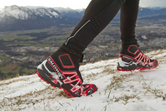 the best attitude 99619 a728b Salomon Snowcross CS Size EU 40 UK 6,5 Winter Running Shoes