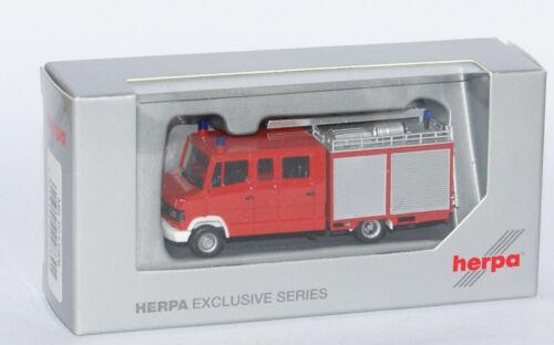 "Herpa Exclusive 297301  Mercedes-Benz T2 LF8//6  /""Fire Engine/"" in 1:87"