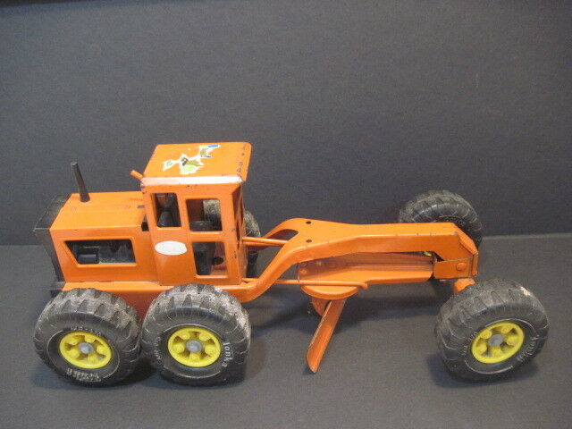 Old Tonka Supression Steel Structure naranja Road planner