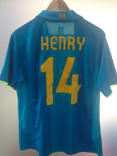 Barcellona 08 Henry 2008 Firma France Juventus Arsenal 07 2007 qx66p45Y