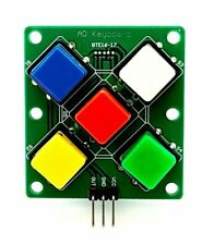 Analog Button For Arduino Keyboard Electronic Simulate Five Key