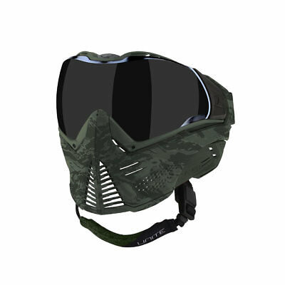 Airsoft Thermal Mask Goggles Tan Push Unite First Strike Paintball Brown