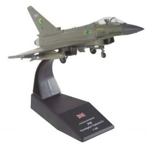 Humatt-RAF-Eurofighter-Typhoon-F-2-2008-Diecast-Model-1-100-Brand-NEW-in-box