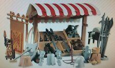 Playmobil 3666 CASTLE Parts WEAPON STAND 3 WEAPONS Toys Kings Medieval Knights I