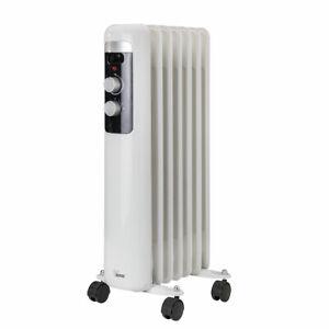 BIMAR HO407 Termosifone elettrico, Radiatore ad olio Basso Consumo, calorifero a