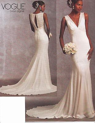 Vogue Bridal Original Dress Sewing pattern from UK V1032
