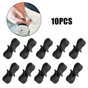 10 Pcs Outdoor Anti-Lost S-Shaped Hook For Camping Mini Carabiner Hook Protable
