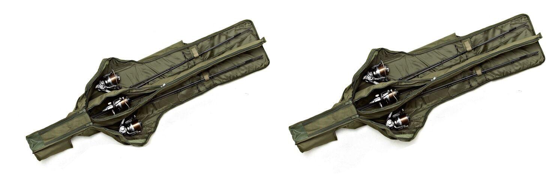 Trakker NXG 3 Rod Padded Sleeve Rutenfutteral Futteral Rutenschutz Rutentasche