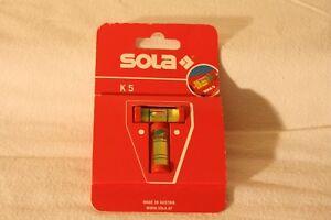 SOLA-Kreuz-Wasserwaage-K5-Wasserwaage-Kreuzwasserwaage