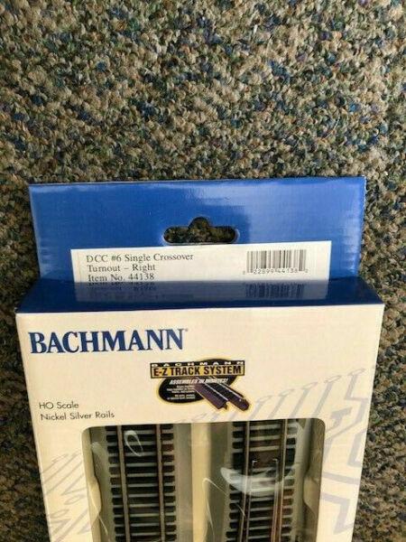 44139 EZ Command #4 Turnout Left HO Bacu4439 Bachmann for sale online