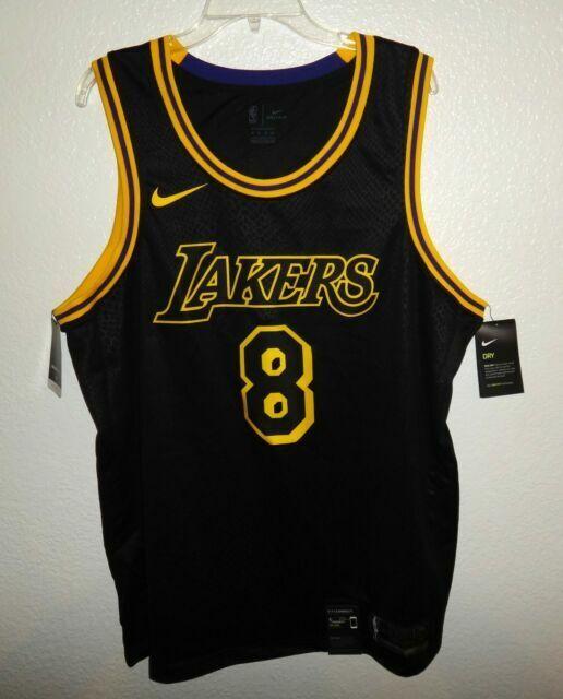 NBA Nike Kobe Bryant 8 La Los Angeles Lakers Swingman Jersey Men ...