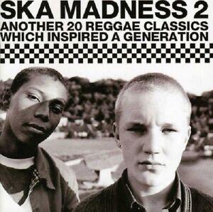 Ska-Madness-2-CD-NEW-SEALED-Reggae-Paragons-Pioneers-Upsetters-John-Holt
