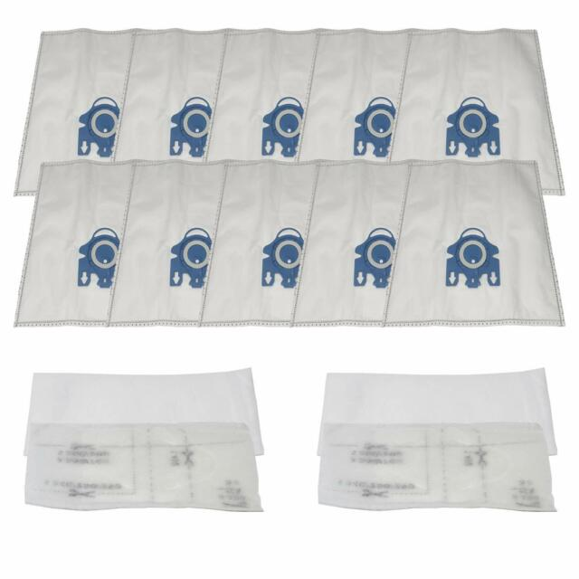 10 x 3D Type Hyclean GN Hoover Bags For MIELE S400 S456i S600 S800 Vacuum
