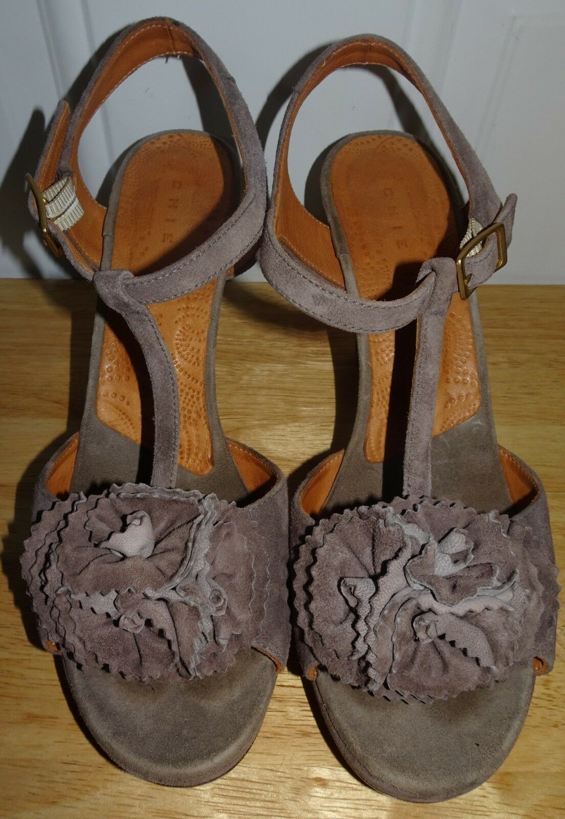 CHIE MIHARA TAUPE GRAY Schuhe STRAPPY HIGH HEEL SANDALS Schuhe GRAY SZ 37.5 249d21