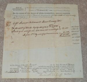 AFRICAN AMERICAN REVOLUTIONARY WAR PATRIOT WENTWORTH CHESWILL SIGNED DOCUMENT