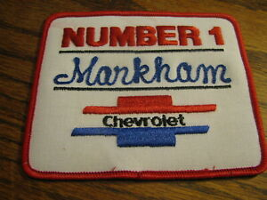 Details about  /Chevrolet Patch  Blue White and Black    Lot# PMC