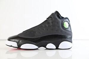 de5629b7bff Nike Air Jordan Retro 13 Black Pink 439358-009 GG GS 4-9.5 6 11 xiii ...