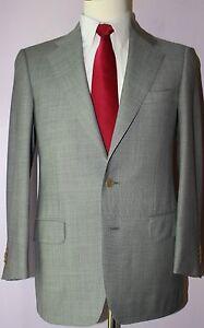 Ermenegildo-Zegna-Trofeo-Gray-Two-Button-Wool-Suit-Size-40-Regular-33-27-Pants