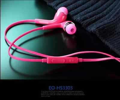 5 Colors 3.5mm Handsfree Earphone W/Volume Control For Samsung Galaxy S4 i9500