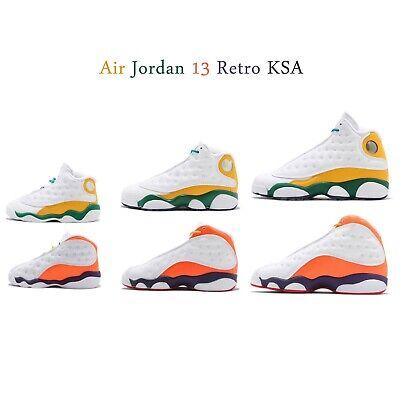 Nike Air Jordan 13 Retro Ksa Playground Grade School Ps Td Zapatos