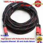 30FT 9M HDMI Cable V1.4 Digital 3D High Speed with Ethernet HEC Full HD 1080p