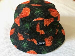 Original CHUCK dolphins fishing RARE Men/'s adult sun bucket hat cap surf skate