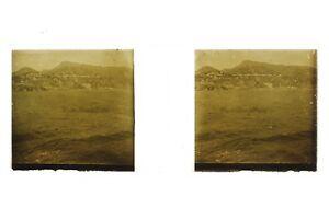 Italia Messina ? Foto Placca P45L5n4 Lente Positivo Stereo 1908