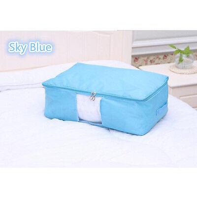 Foldable Storage Bag Clothes Blanket Quilt Closet Bedding Organizer Box Pouch