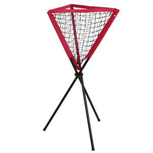 Image is loading Baseball-Pitching-Training-Net -Softball-Practice-Caddy-Ball- Baseball Pitching Training Net Softball Practice Caddy Ball Portable