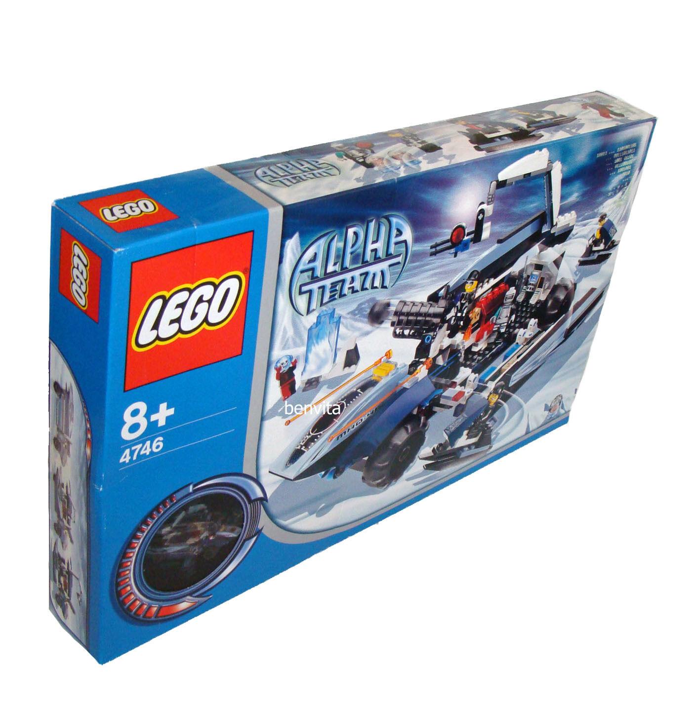 LEGO ® squadra Alpha 4746-mobile centro comandi 420 parti 8+ - NUOVO