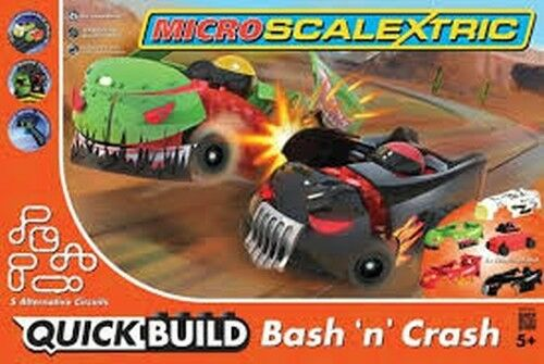 Micro Scalextric G1116 Bash´n Crash  | | | Qualitätsprodukte