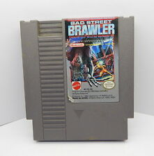 Nintendo NES Bad Street Brawler Game Cartridge, Works R13358