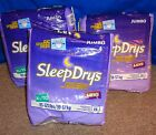 3 Packs 45 Vintage Luvs Sleep Drys XL / TG 85 -125 lbs.  Disposable Diapers !!!