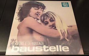 """BAUSTELLE """"L'Amore E La Violenza"""" LP vinile nuovo 2017 prima edizione numerata!!"""