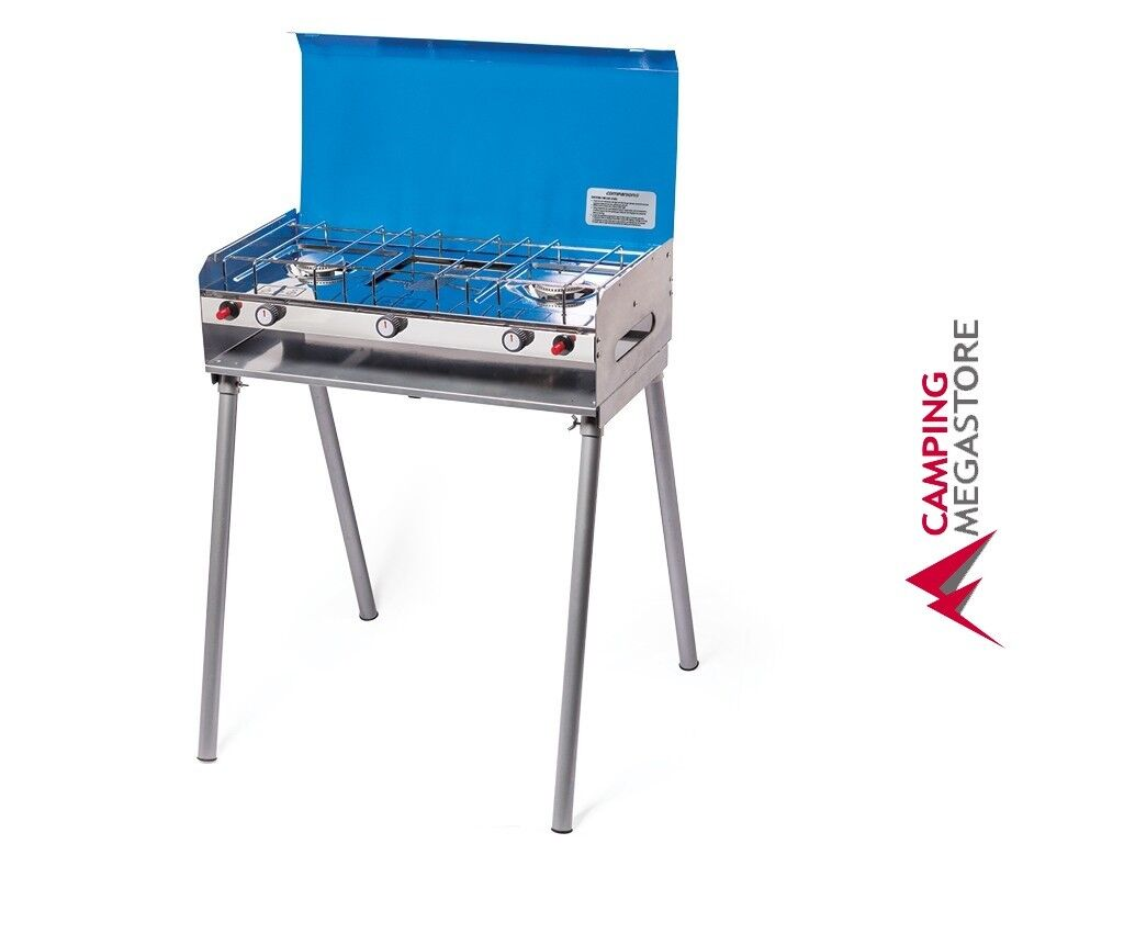 COMPANION RV GAS STOVE AND GRILL - CAMPING 4WD PORTABLE COMPACT